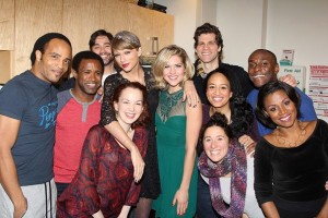 Taylor Swift at Carole King Musical