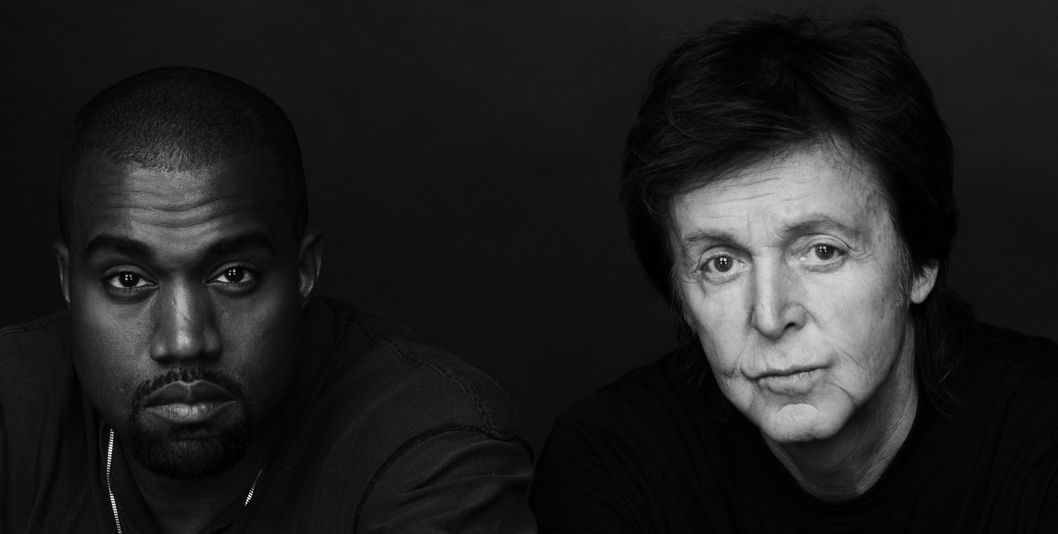 Kanye West and Paul McCartney