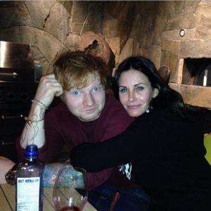Ed Sheeran new song Courtney Cox