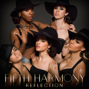 "Deluxe edition album cover of ""Reflection"" by Fifth Harmony"