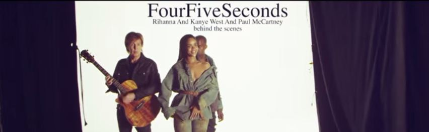 fourfiveseconds music video BTS