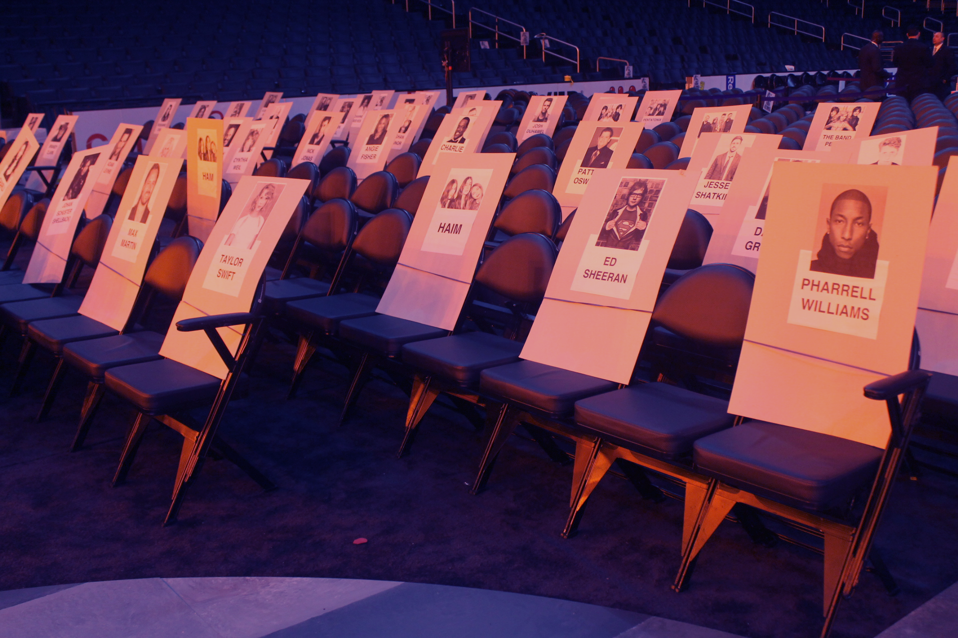 57th grammy awards 2015 seating arrangements