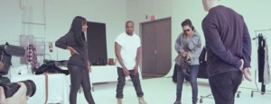 """""""FourFiveSeocnds"""" music video behind the scenes"""