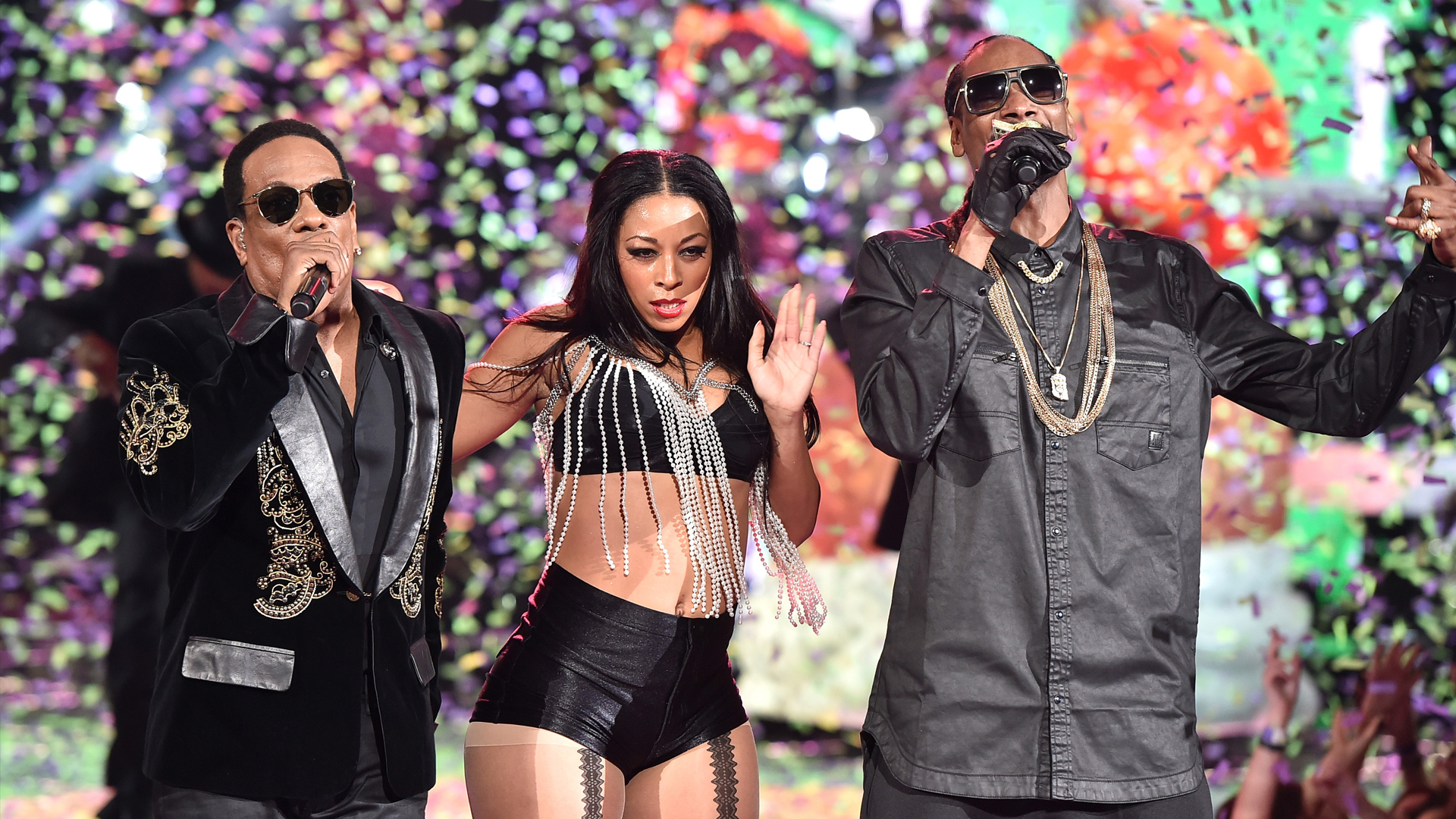 snoop dogg charlie wilson peaches n cream iheartradio music awards 2015