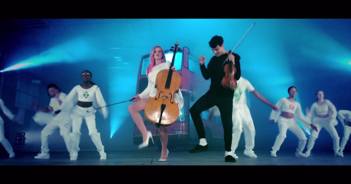 clean bandit stronger music video