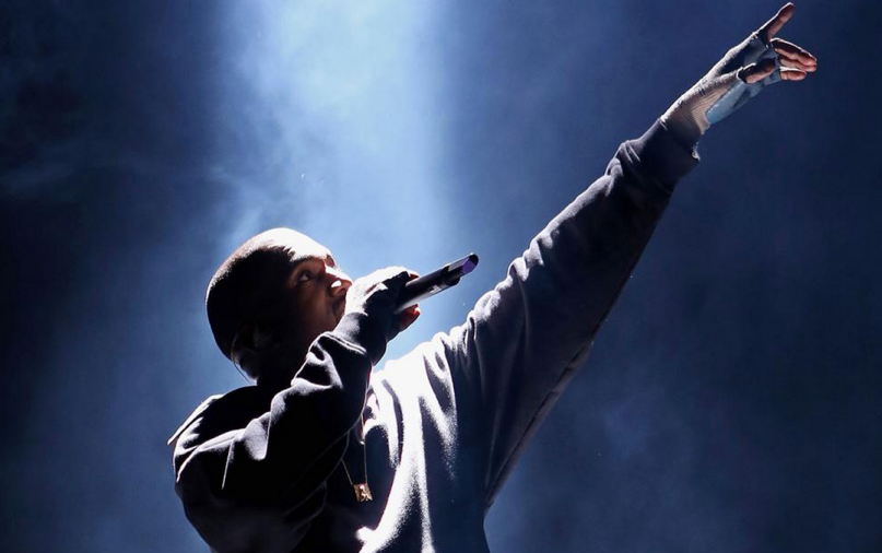 kanye west perform new untitled track at KOKO London with Vic Mensa