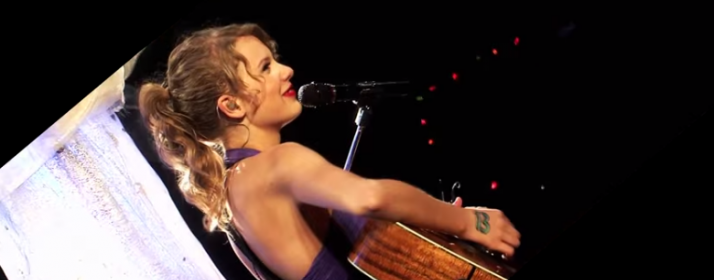taylor swift drops of jupiter cover live