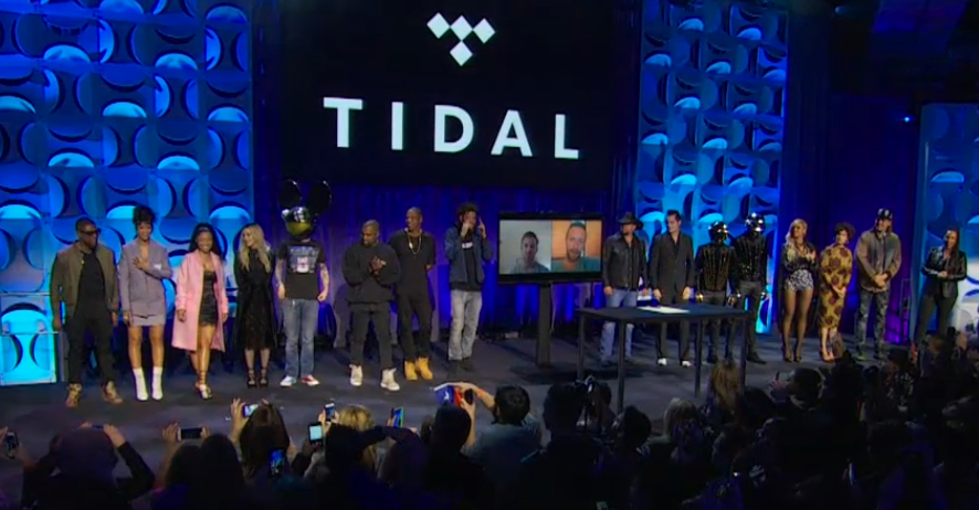 tidal launc ceremony jay z review