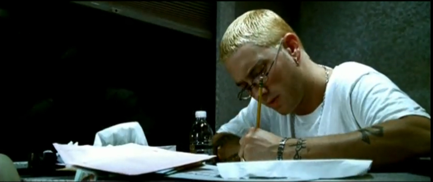 does eminem write his own songs Eminem raps about rape and iggy azalea in she does have a -- with snoop dogg bowing out of his feud with iggy azalea, it seems eminem is more.