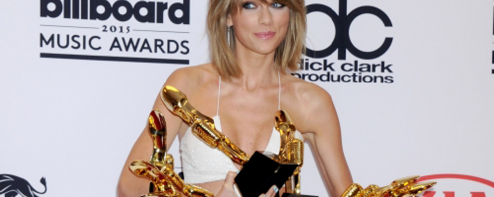 taylor swift wins 8 out of 14 nominations at billboard music awards 2015