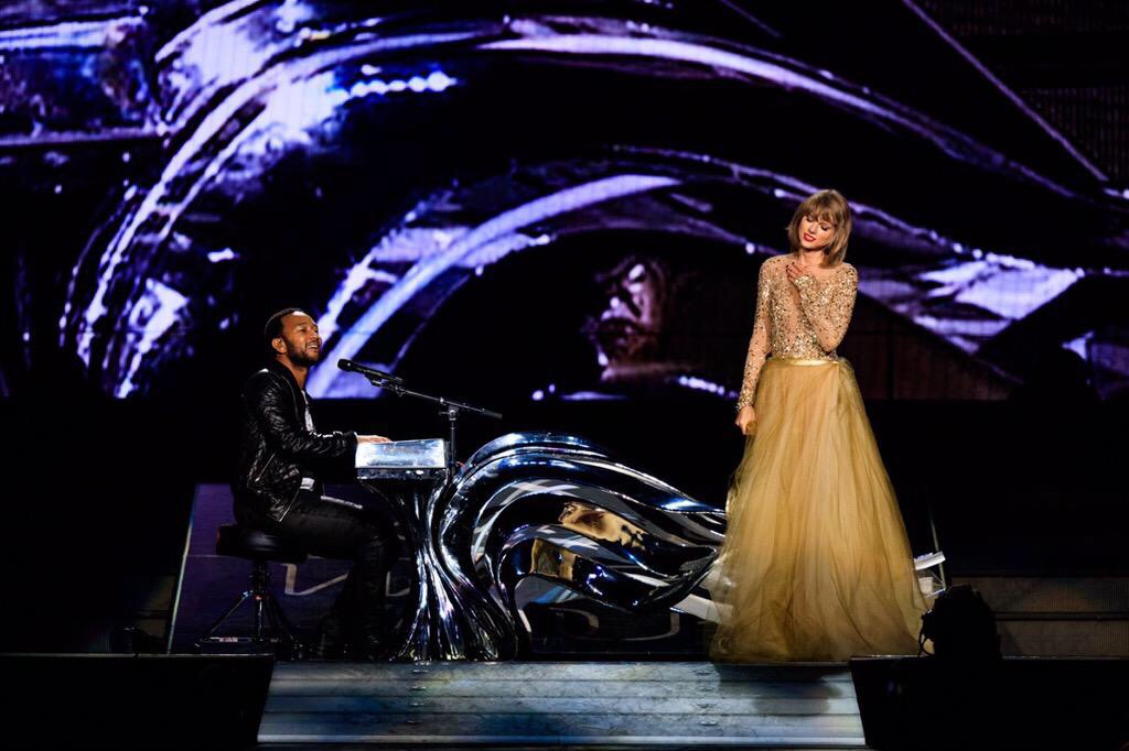 taylor swift john legend all of me 1989 tour los angeles