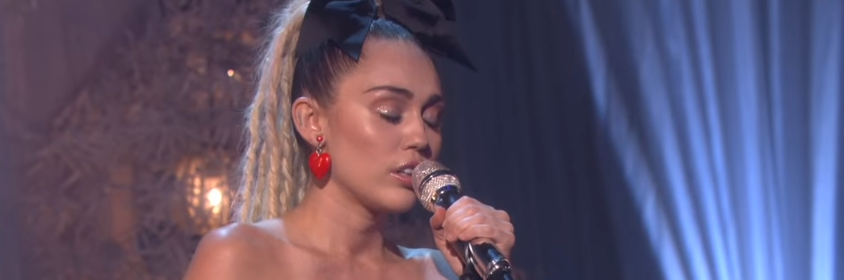 miley cyrus hands of love live on ellen
