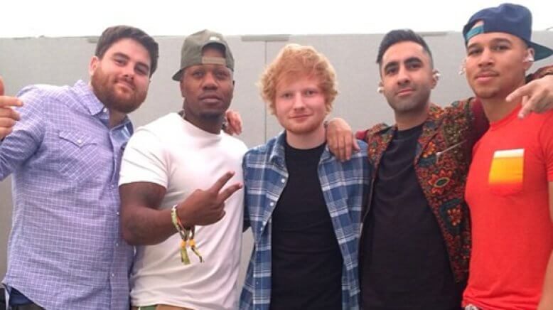 rudimental ed sheeran single music video lay it all on me