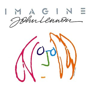 "Cover art for ""Imagine"" by John Lennon"