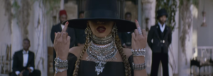 "Beyonce raises two middle fingers to the society in ""Formation"" music video"