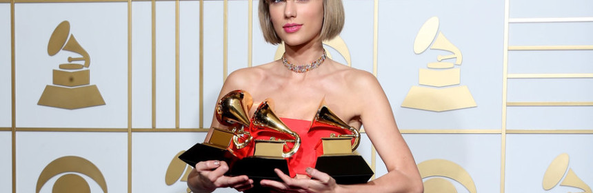 taylor swift all awards as of 2016