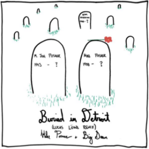 """""""Buried In Detroit"""" cover art from 'At Night, Alone' album by Mike Posner review"""