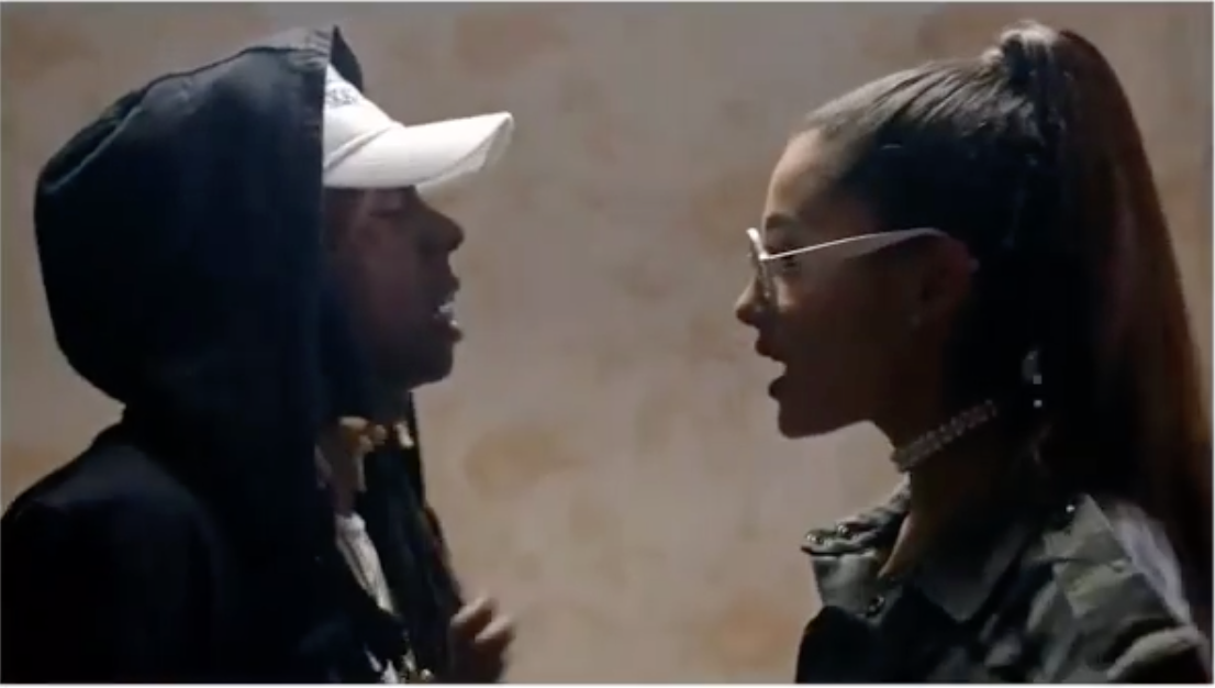 Ariana Grande Ft. Lil Wayne – Let Me Love You (Music Video)