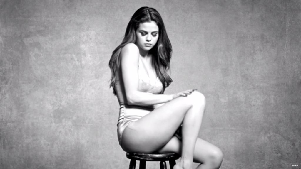 selena gomez hot in kill em with kindness music video