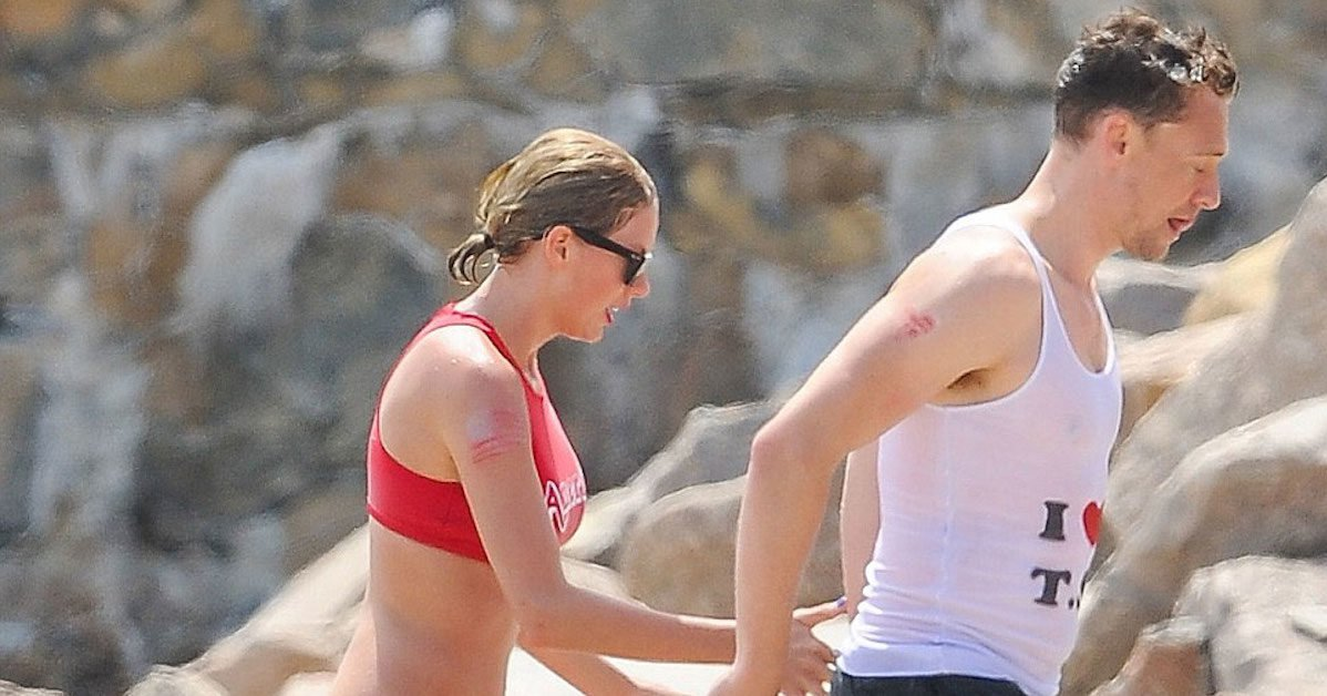 taylor swift and tom hiddleston at beach bikini 4th of july