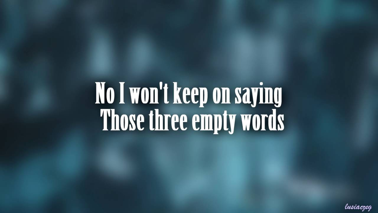 shawn mendes three empty words lyrics review song meaning