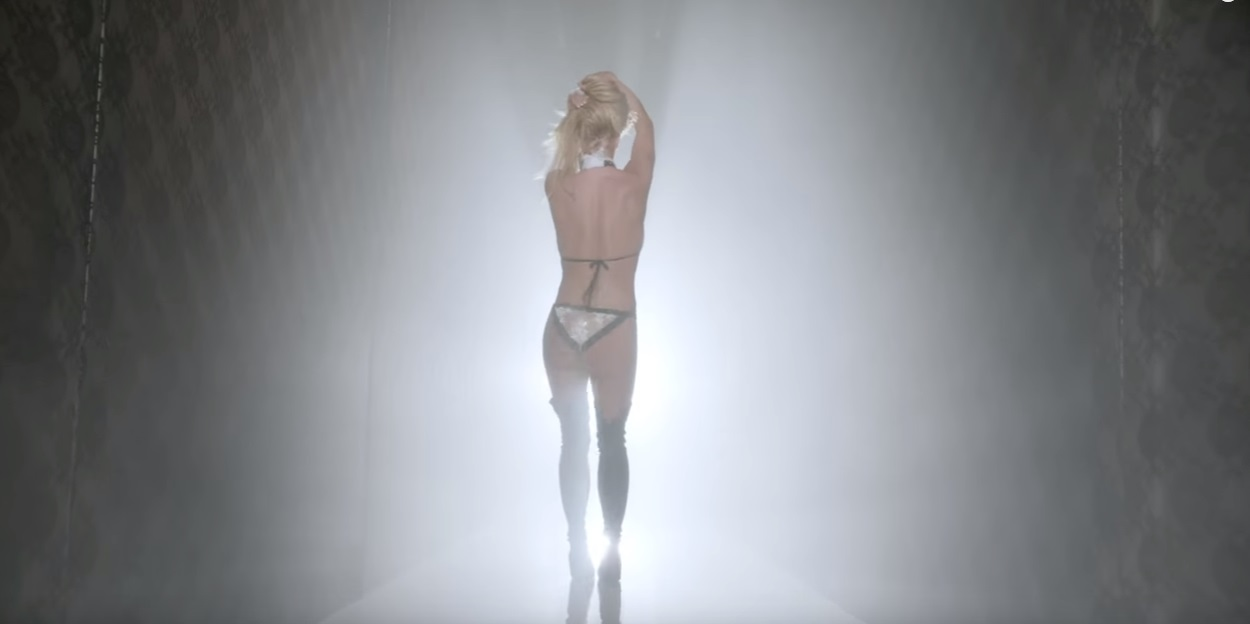 britney spears ft g eazy make me music video hot