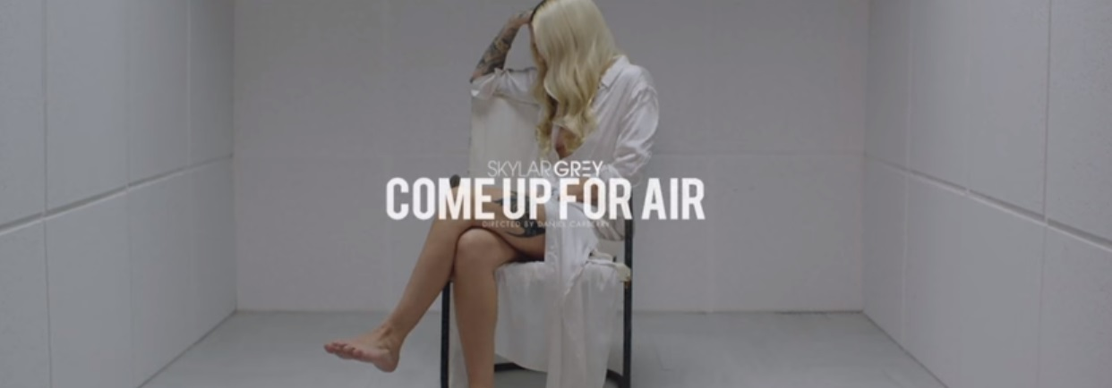 skylar grey come up for air music video
