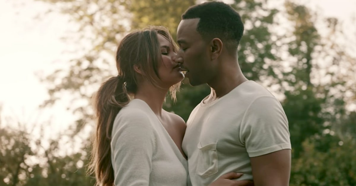 john legend love me now music video chrissy teigen