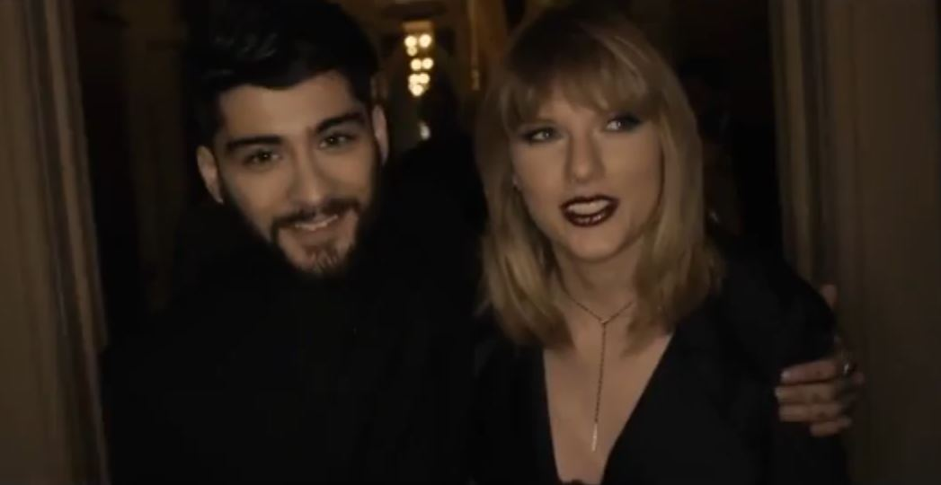 zayn taylor swift behind the scenes i don't wanna live forever video