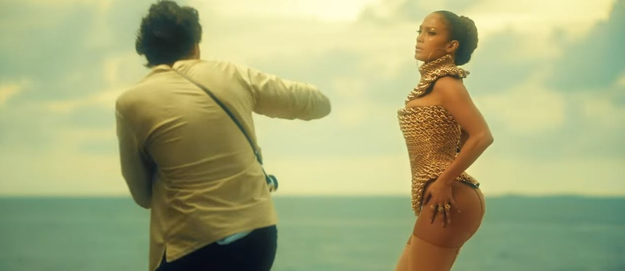 jennifer lopez Ni Tú Ni Yo music video hot