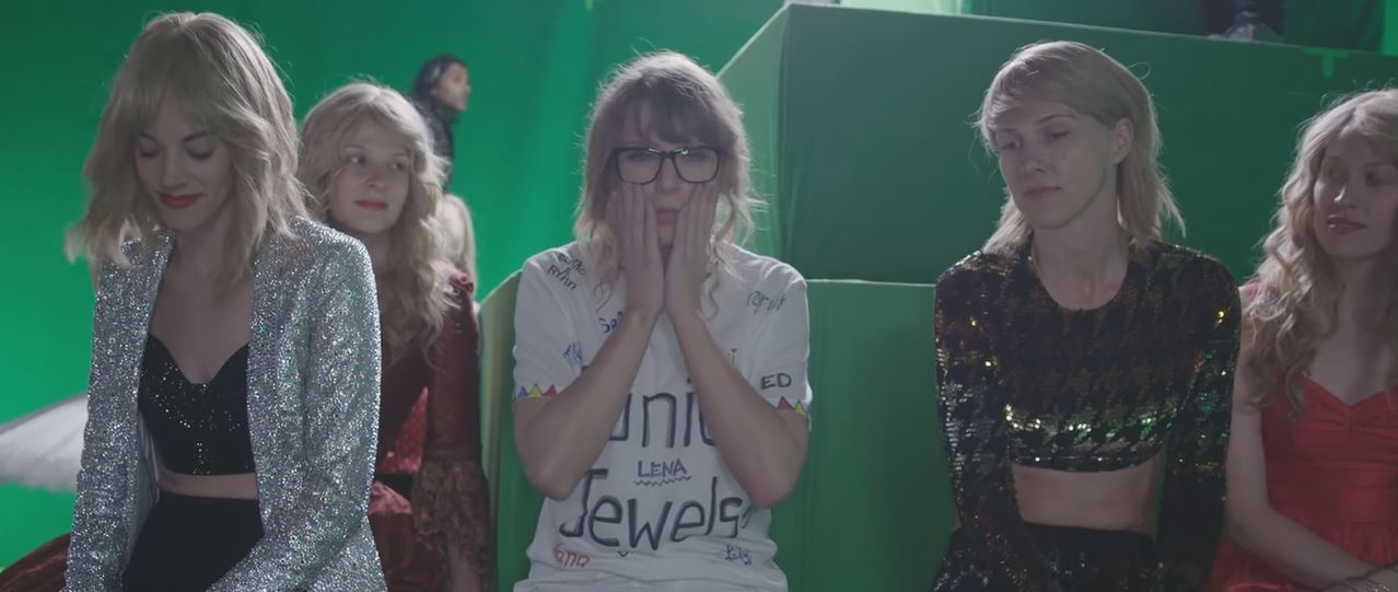 taylor swift taylor mountain look what you made me do behind the scenes