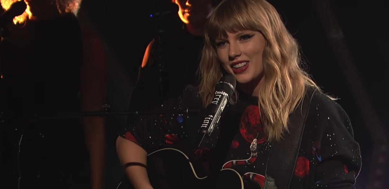 taylor swift call it what you want live snl