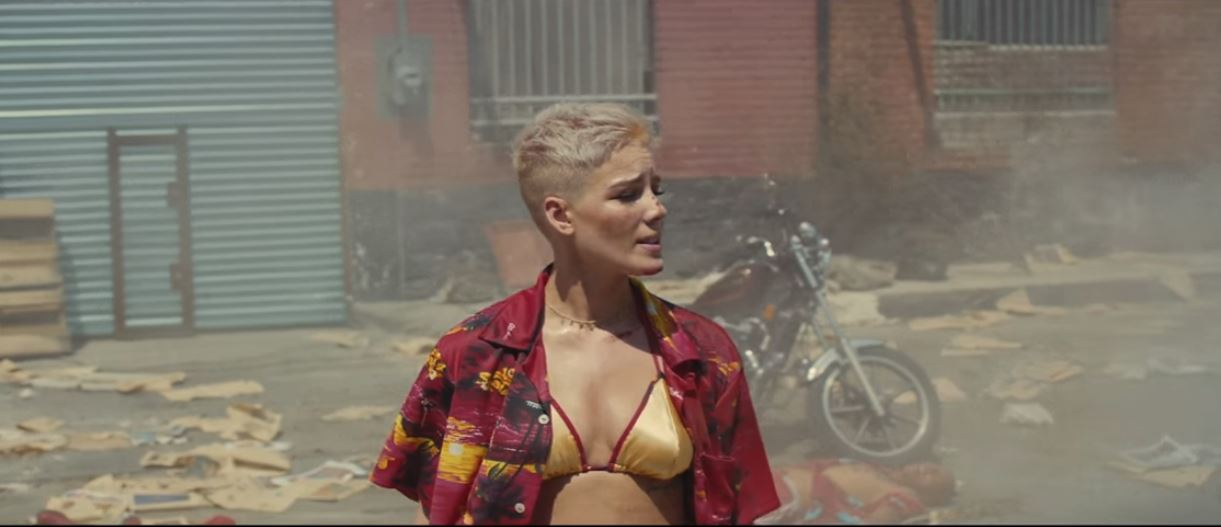 halsey sorry music video lyrics