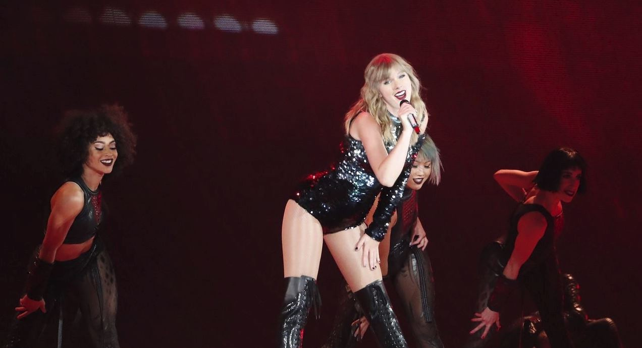 taylor swift reputation tour santa clara 2018