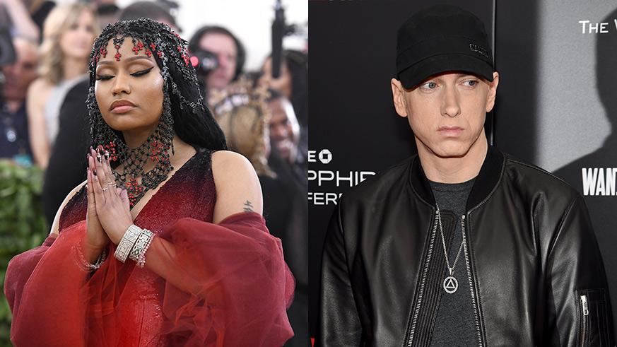 eminem and nicki minaj dating relationship