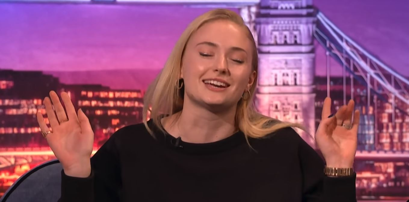 sophie turner sansa stark eminem the real slim shady rap