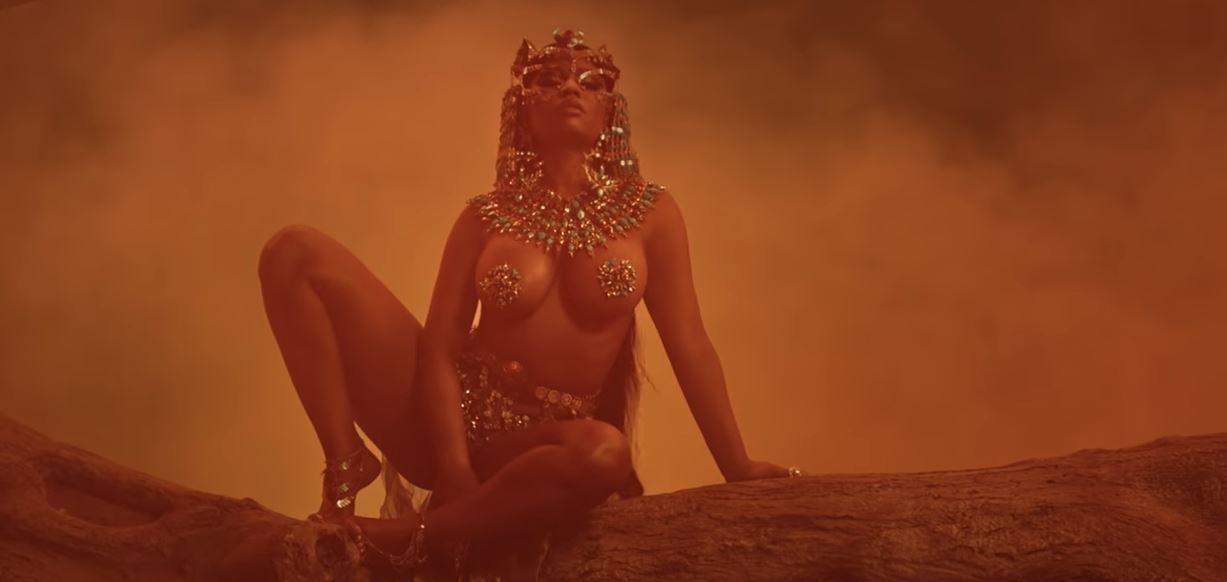 nicki minaj ganja burn video hot explicit nude