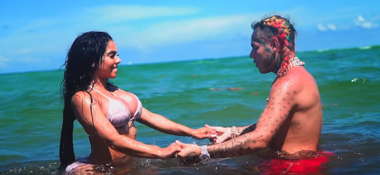 6ix9ine bebe music video hot explicit