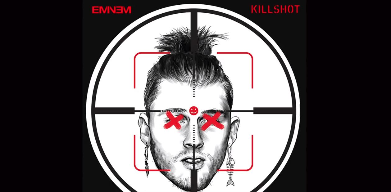 eminem killshot machine gun kelly mgk diss lyrics review meaning