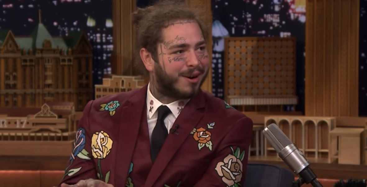 post malone sunflower tease jimmy fallon