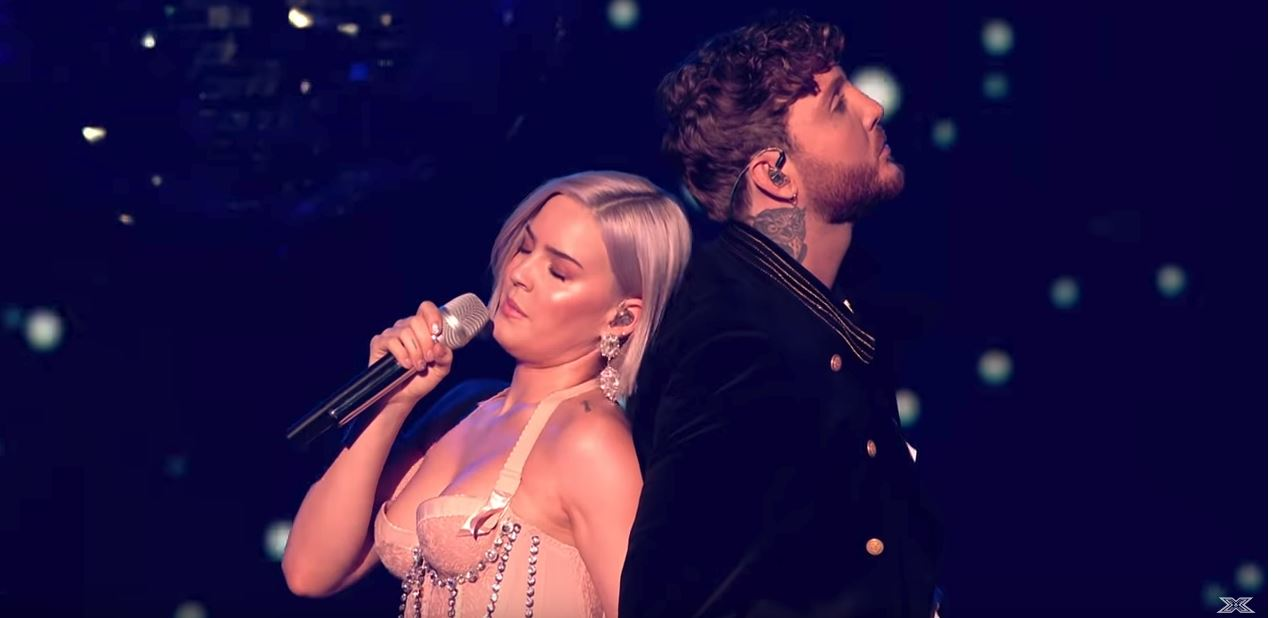 anne-marie james arthur rewrite the stars live x factor uk 2018