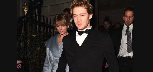 taylor swift joe alwyn bafta pda