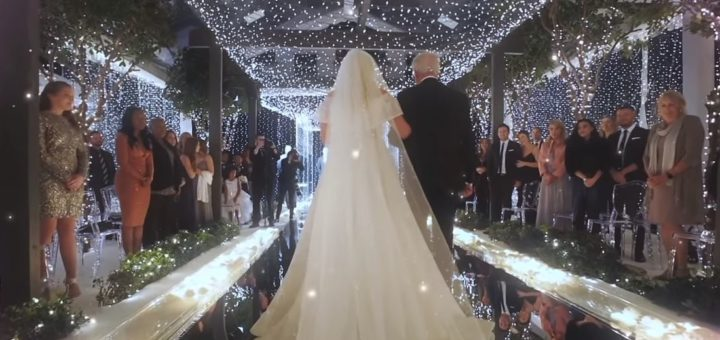 meghan trainor marry me wedding video