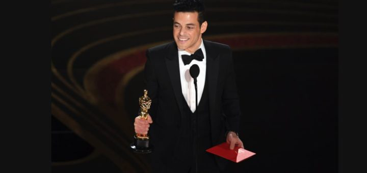 rami malek 2019 oscar awards best actor bohemian rhapsody