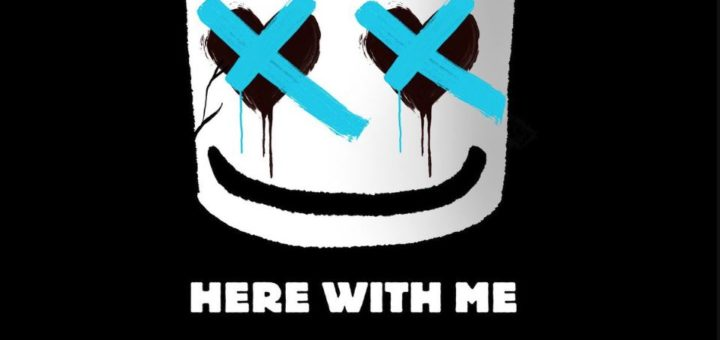 marshmello CHVRCHES here with me lyrics review