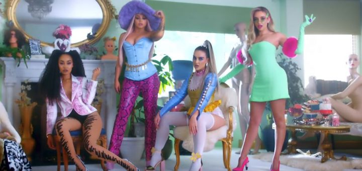 little mix bounce back video