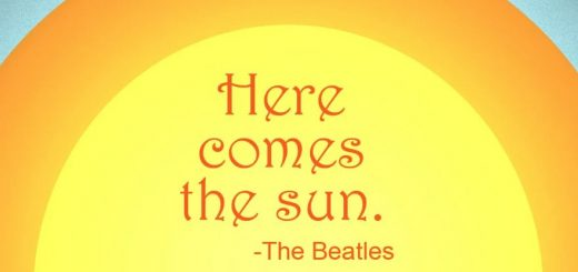 the beatles here comes the sun meaning