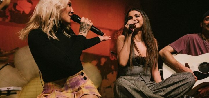 julia michaels anxiety selena gomez live performance